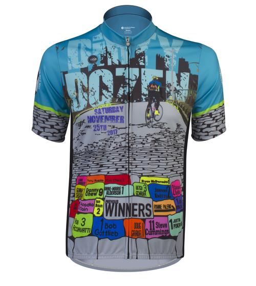 Aero Tech Sprint Jersey - Dirty Dozen Cycling Jersey - 2017 3d2d4d85b