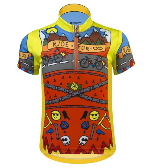 Child Cycling Jerseys - Youth bicycle clothing - Child biking tops 4b49a21d3
