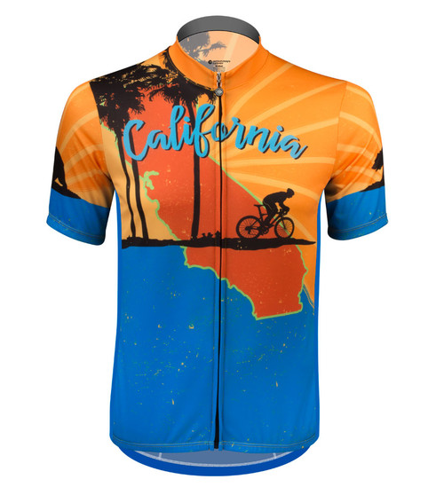 4c260744b Big Man's Cycling Jerseys - Loose Fit and Breathable Bike Jerseys