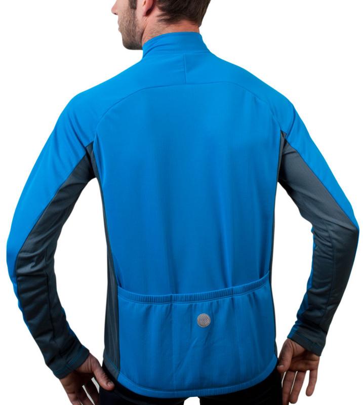 cf8414618 ... Aero Tech BIG Men s Formaggio Long Sleeve Fleece Cycling Jersey ...
