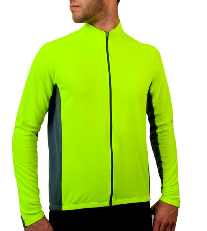 ... Aero Tech BIG Men s Formaggio Long Sleeve Fleece Cycling Jersey ... 70a5d643a