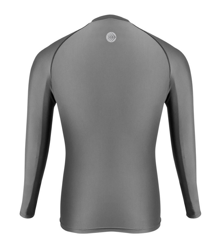 Men/'s Compression Base Layer Long Sleeve Plain Shirts Breathable Spandex Running