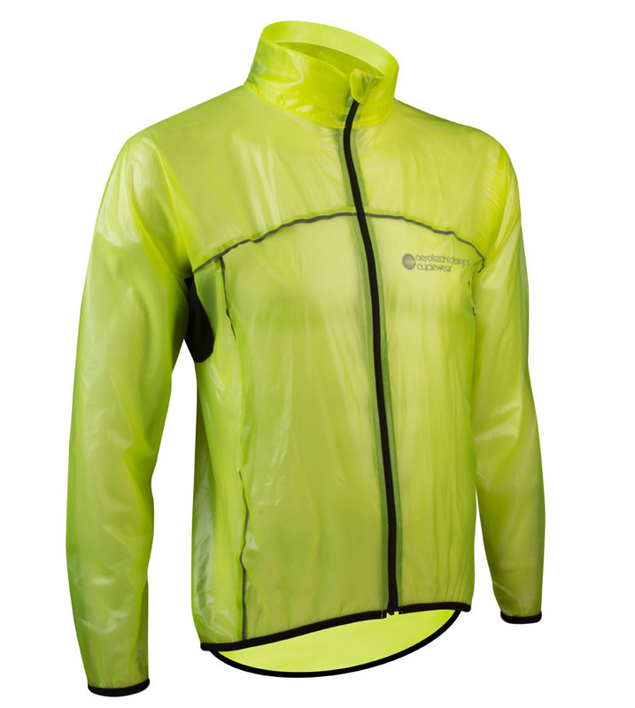EIGO LEVANTER WINDPROOF CYCLING THERMAL JACKET FOR WINTER ROAD CYCLE ORANGE