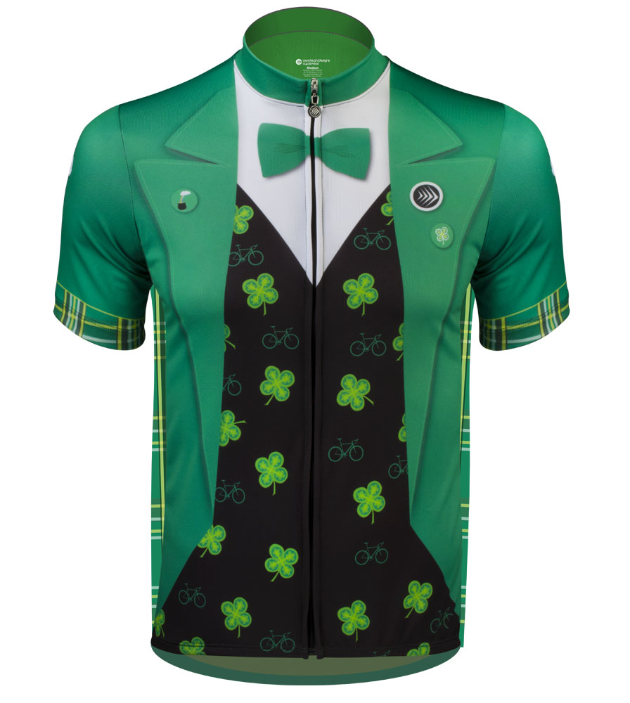 8d766c275 Aero Tech Sprint Jersey - Lucky Leprechaun - The Official St. Patrick s Day Cycling  Jersey