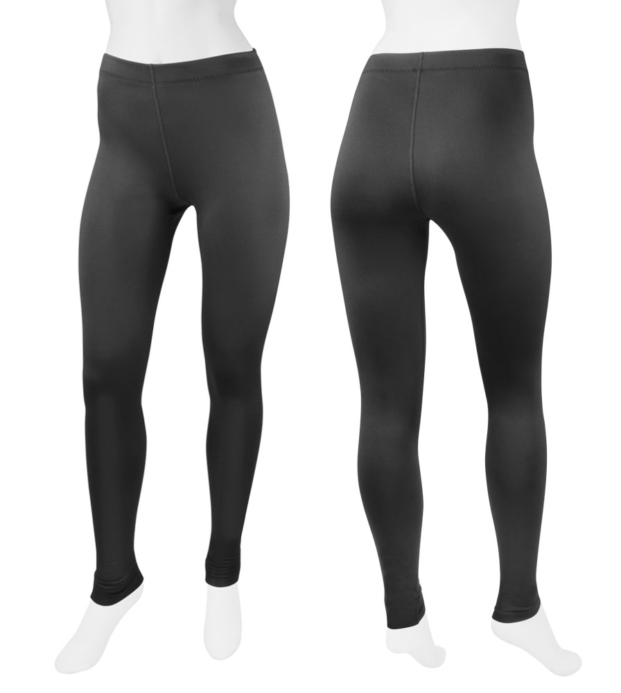67044a4569433 Women's Black Spandex Lycra Compression Exercise Tights by Aero Tech