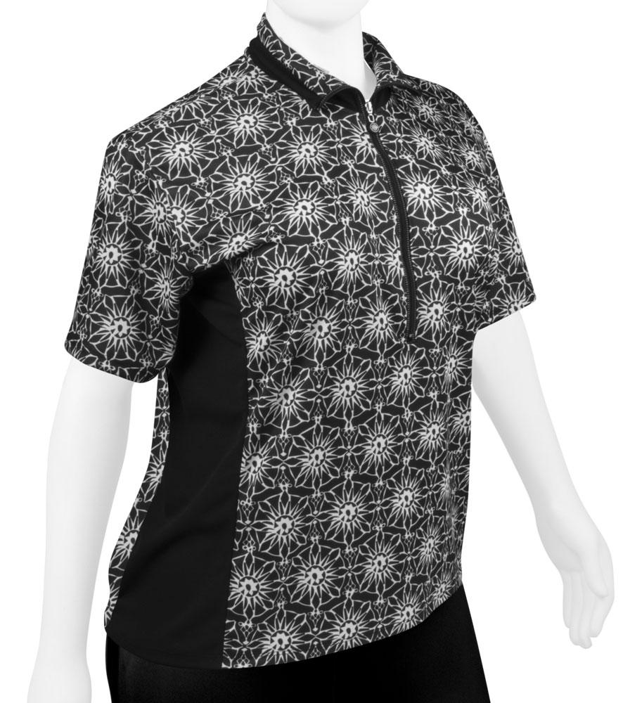 df789959505 Aero Tech PLUS SIZE Women s Gina Cycling Jersey - Loose Fit Pizelle Print