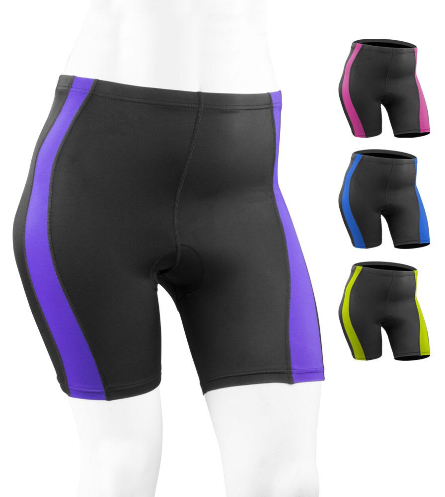 521d3b3c241 Aero Tech PLUS SIZE Women s Classic 2.0 PADDED Bike Shorts - Made in USA