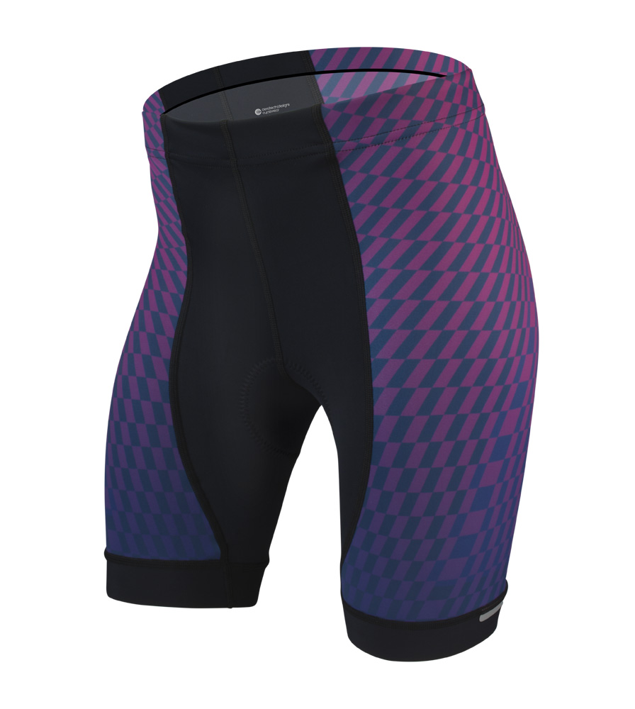 646ae003b37 Aero Tech Women s Empress Shorts - Power Tread - Pink - PADDED Bike Shorts  - Made