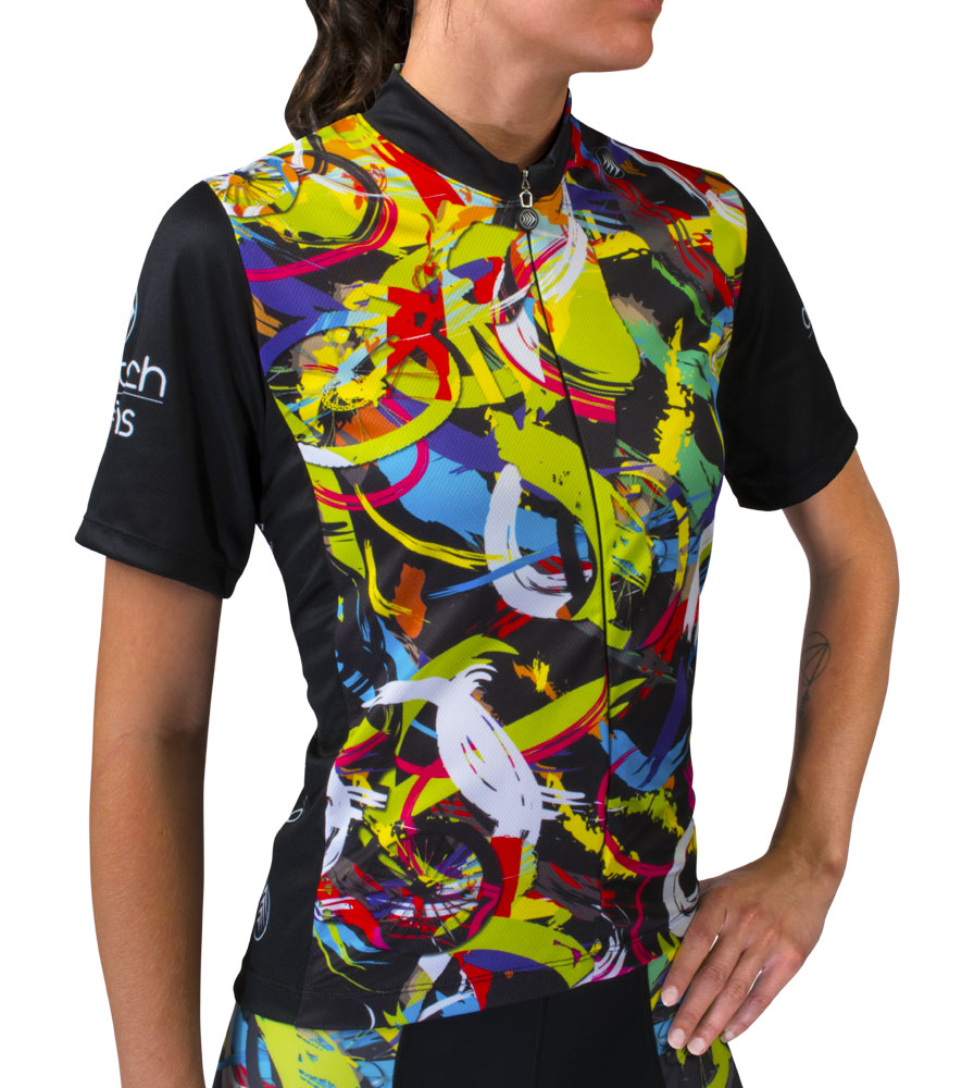 22cc72c92 Women s Hide-a-Rider Cycling Jersey - Designer Cycling Apparel