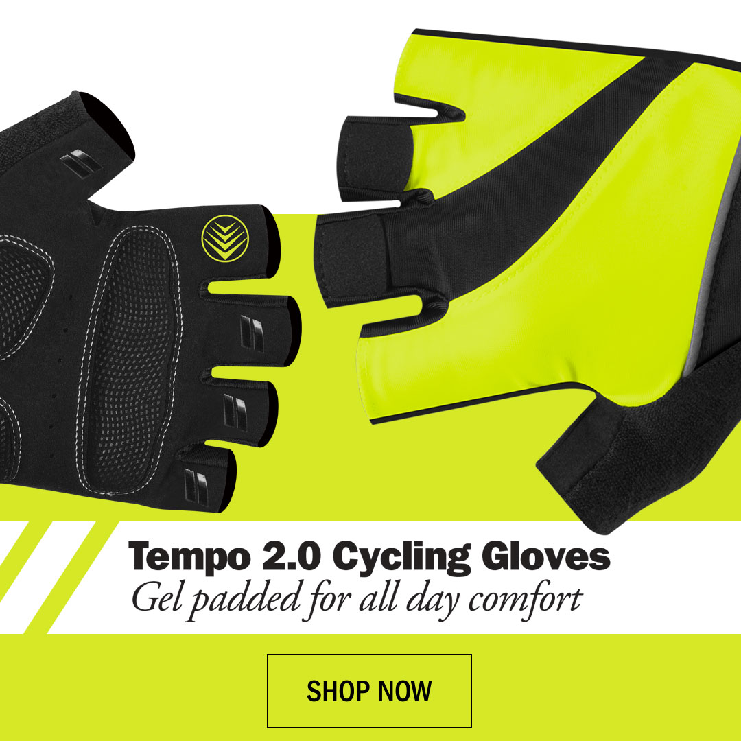 tempo cycling gloves