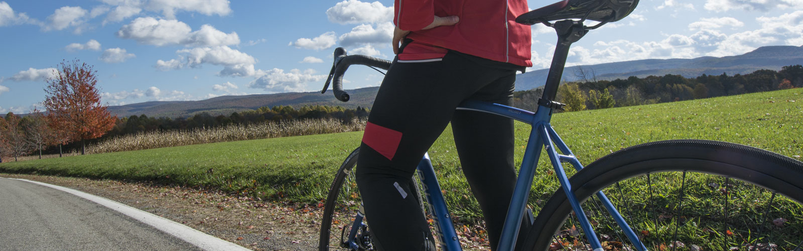 Men's Cold Weather Cycling Tights Banner