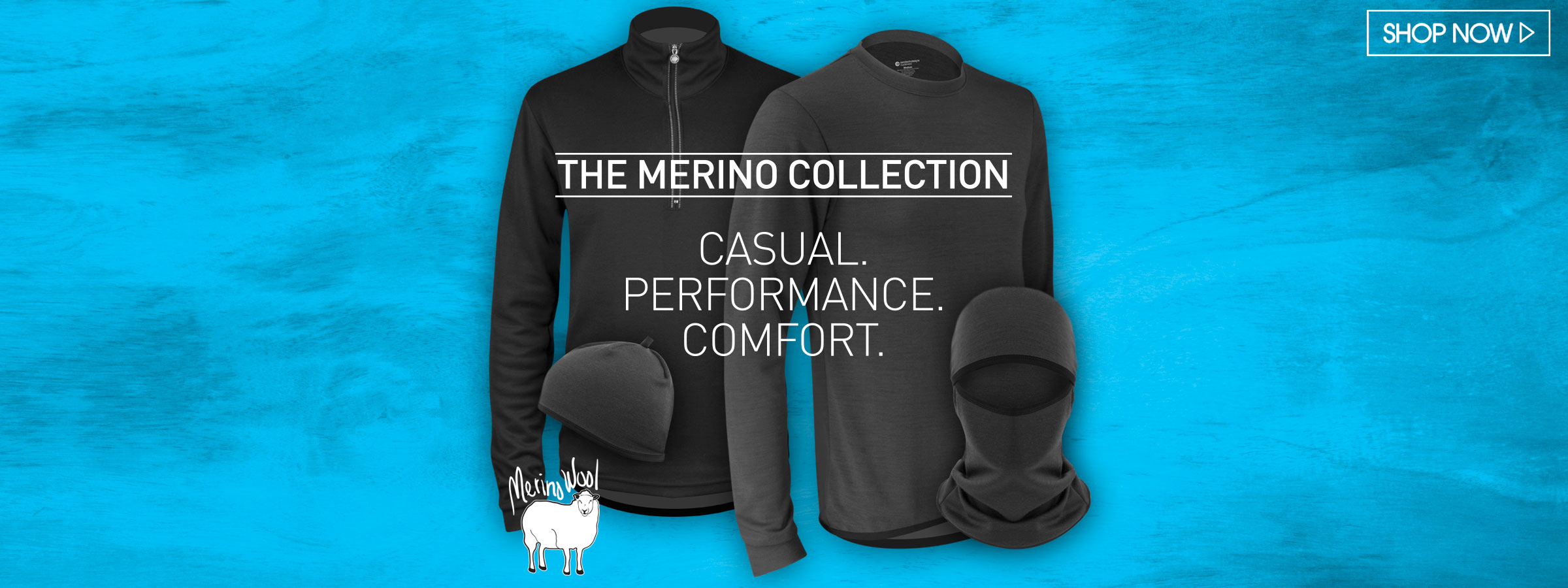 merino wool cycling apparel collection