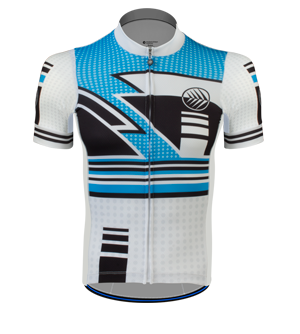 metric cycling jersey