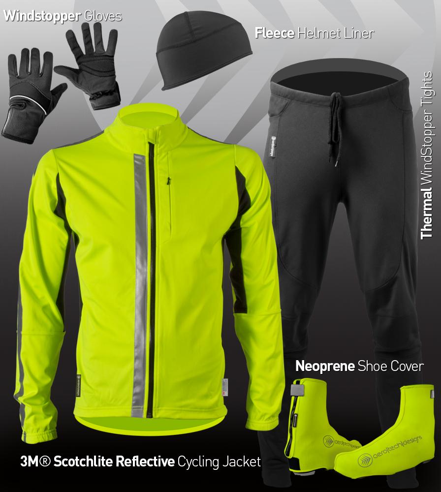 3M Hi-Viz Cycling Jacket Kit
