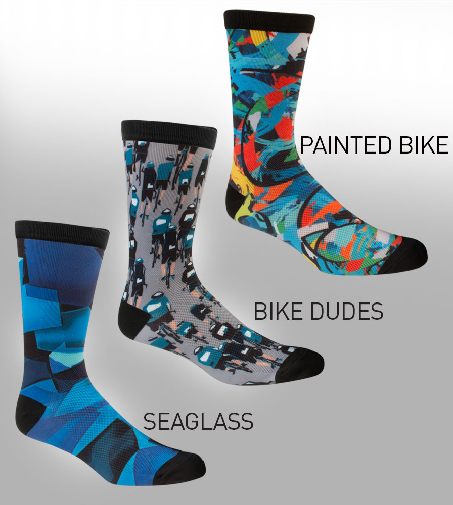 Printed Sock Color Options