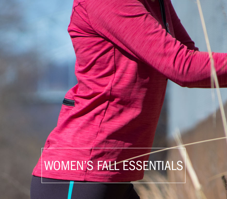 women's fall cycling apparel