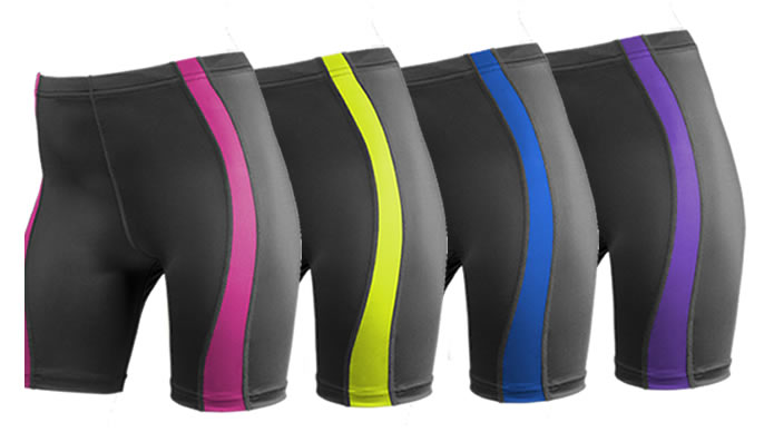 aero tech colorful bike shorts