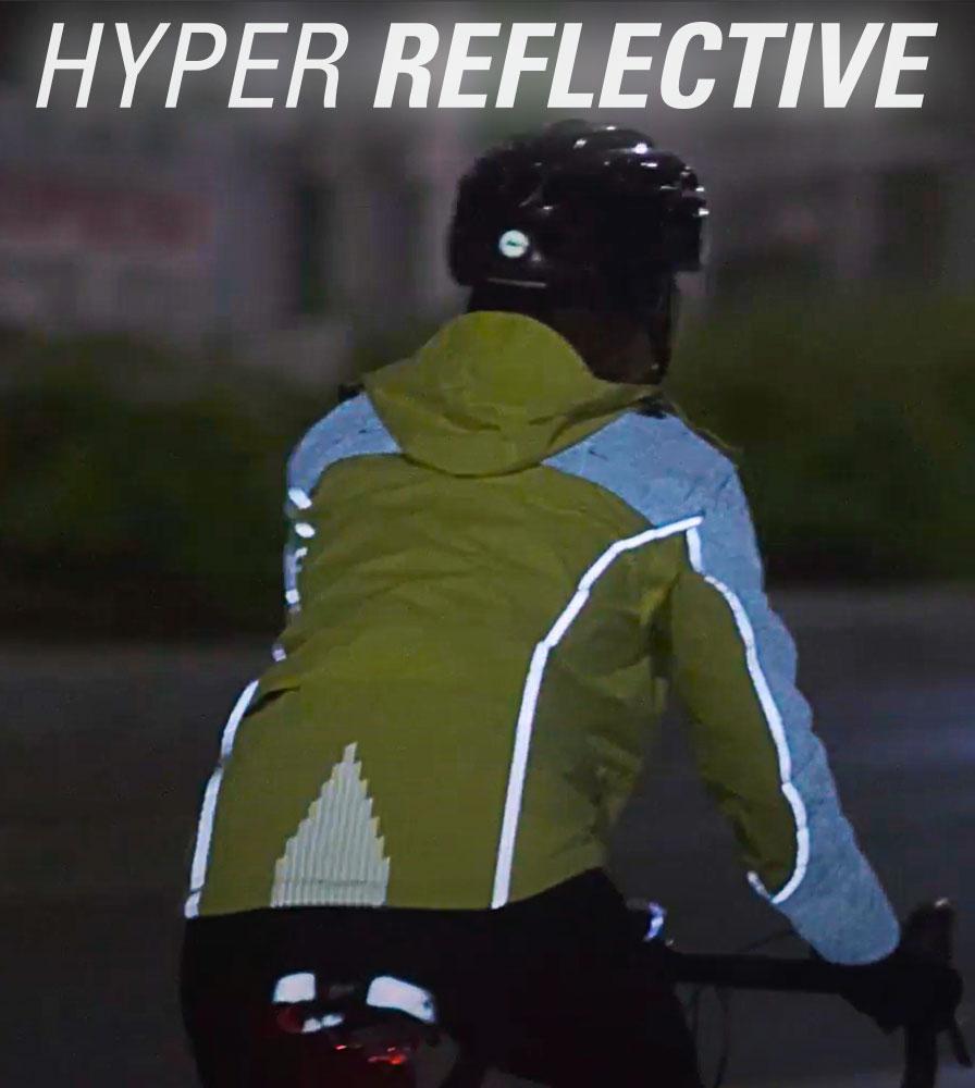 Men's Aero Reflect Cycling Jacket Off HyperReflect