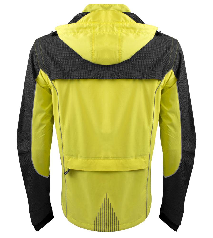 Men's Aero Reflect Cycling Jacket Full Back View