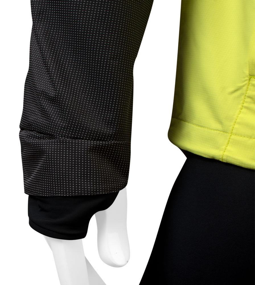 Men's Aero Reflect Cycling Jacket Sleeve Cuff Detail