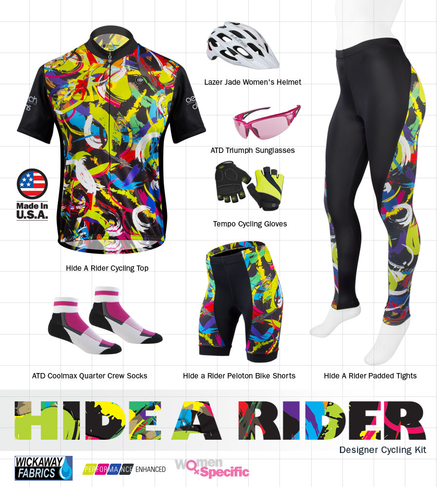 Women's Hide-a-Rider Cycling Kit