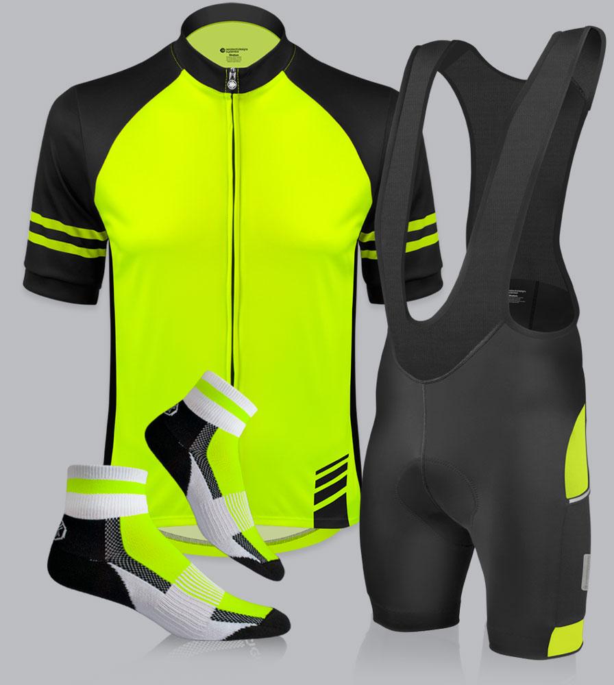 Men's All Day Cycling Bib-Short Kit