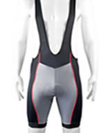 bib shorts are compression bike shorts with suspender shoulder straps