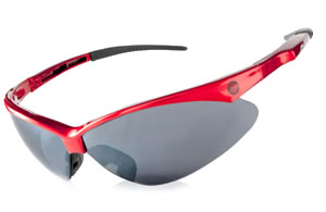 Red Wrap Sunglasses