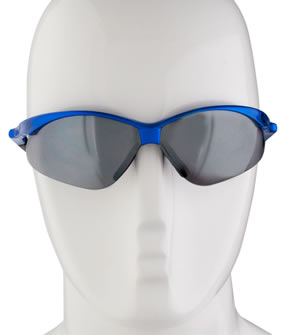 blue wrap sunglasses