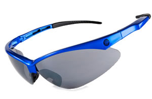 Royal Blue Wrap Sunglasses