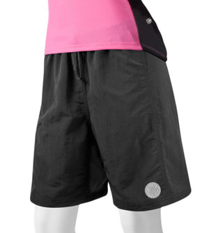 women's baggy bike short