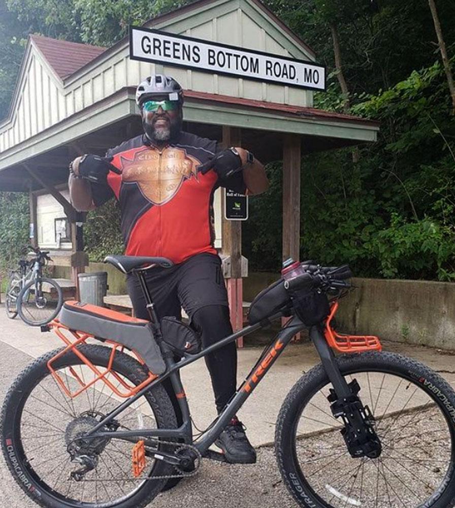 Big Men's Clydesdale Bike Jersey