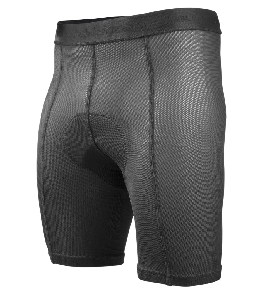 Men's Padded Liner Shorts Front View