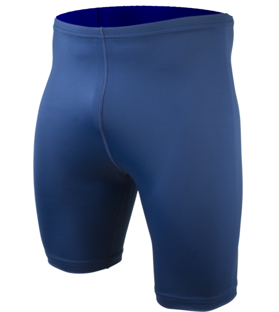 Big Men's Spandex Compression Short in Navy