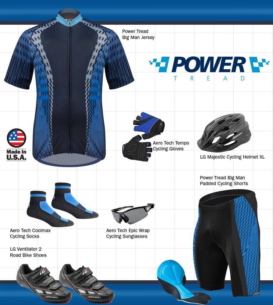Big Men's Power Tread Kit Panel