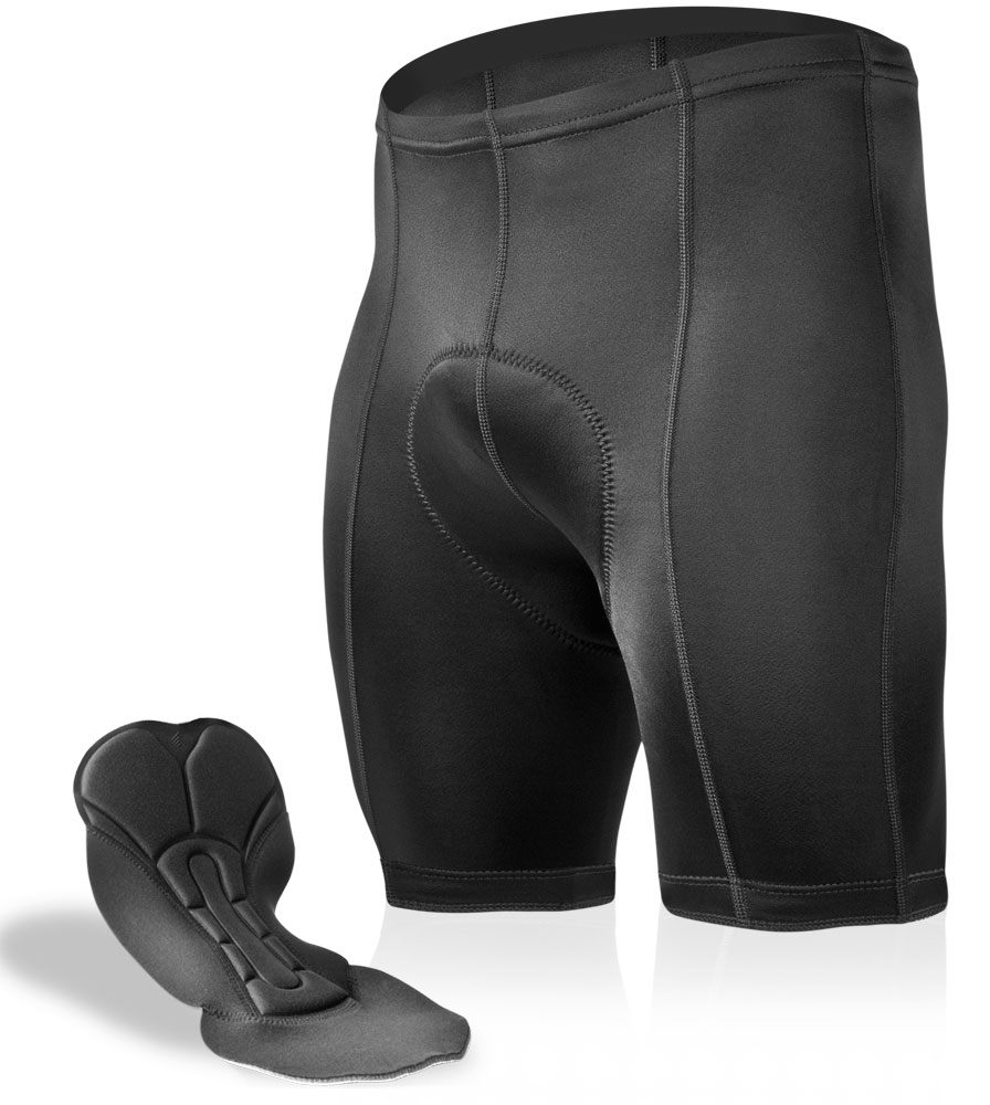 Black P. Cycling Shorts for Men