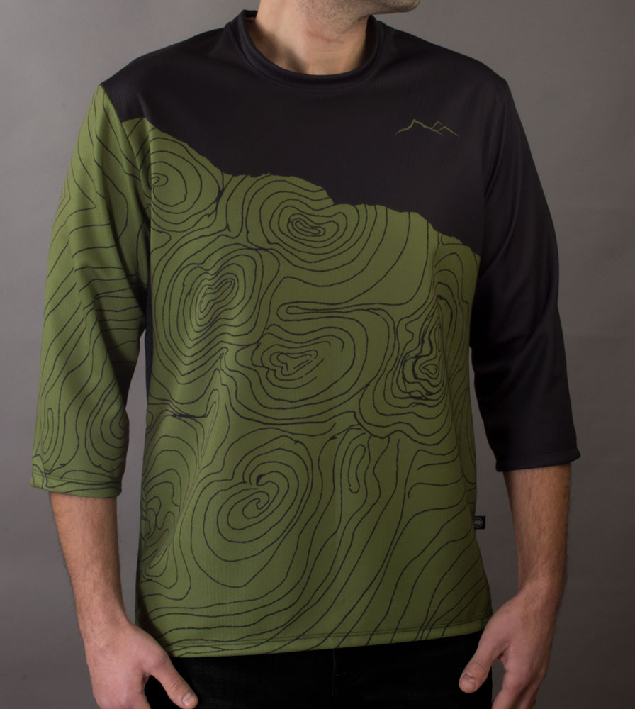 camber-mtbjersey-3quartersleeve-topo-olive-front-model.jpg