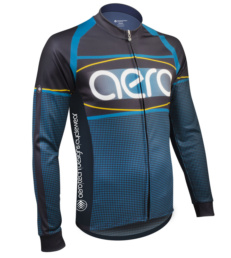 peloton-long-sleeve-Custom-Cycling-Jersey