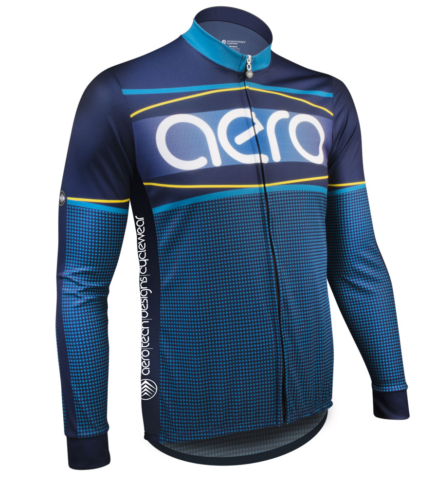 Sprint-Long-Sleeve-Custom-Cycling-Jersey