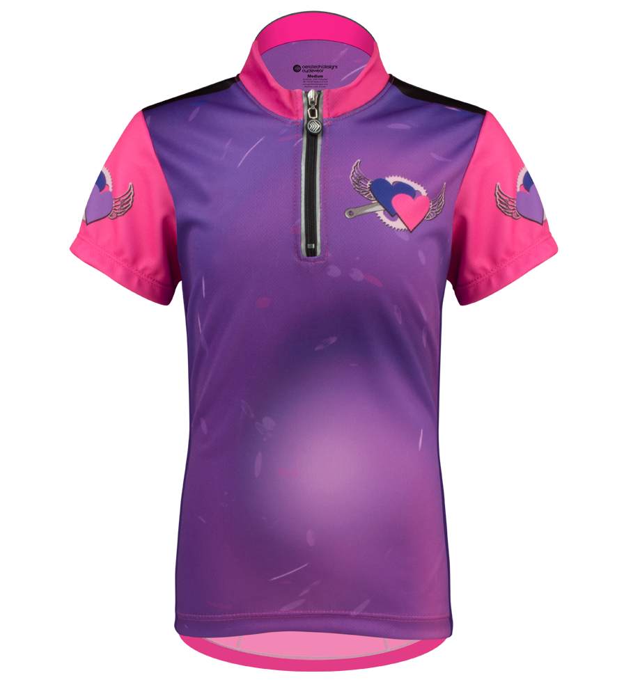 Flying Hearts Youth Jersey Front