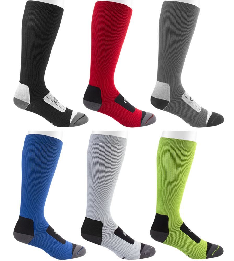 Compression Sock Color Options Full Sock View