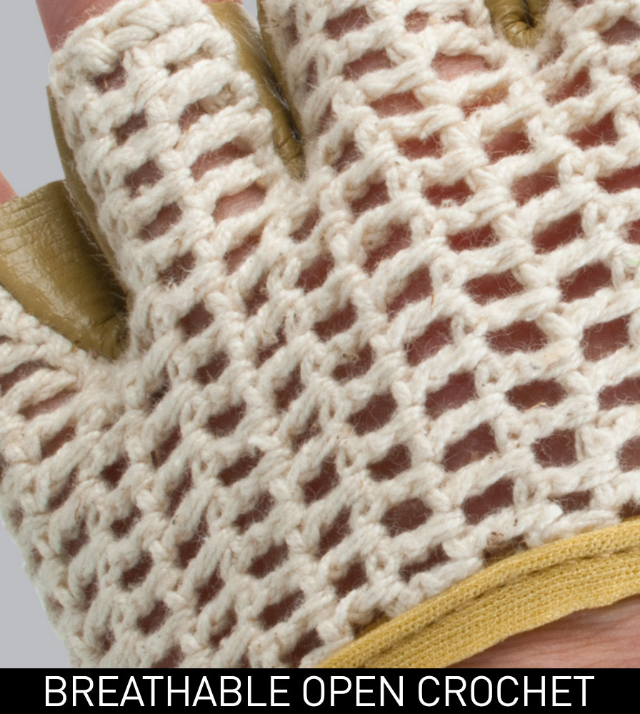 Breathable Open Natural Cotton Crochet Fabric