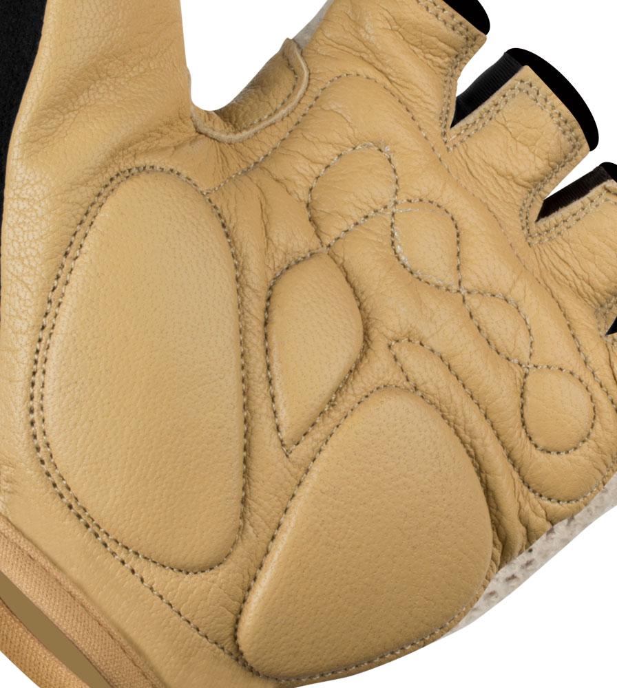 Cotton Crotchet Cycling Glove with Extra Palm Padding