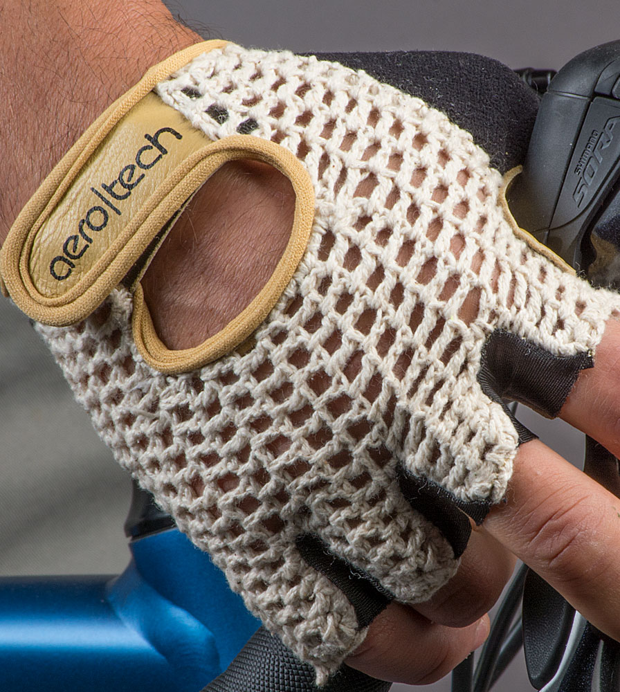 Extra Gel Padded Crochet Cycling Gloves