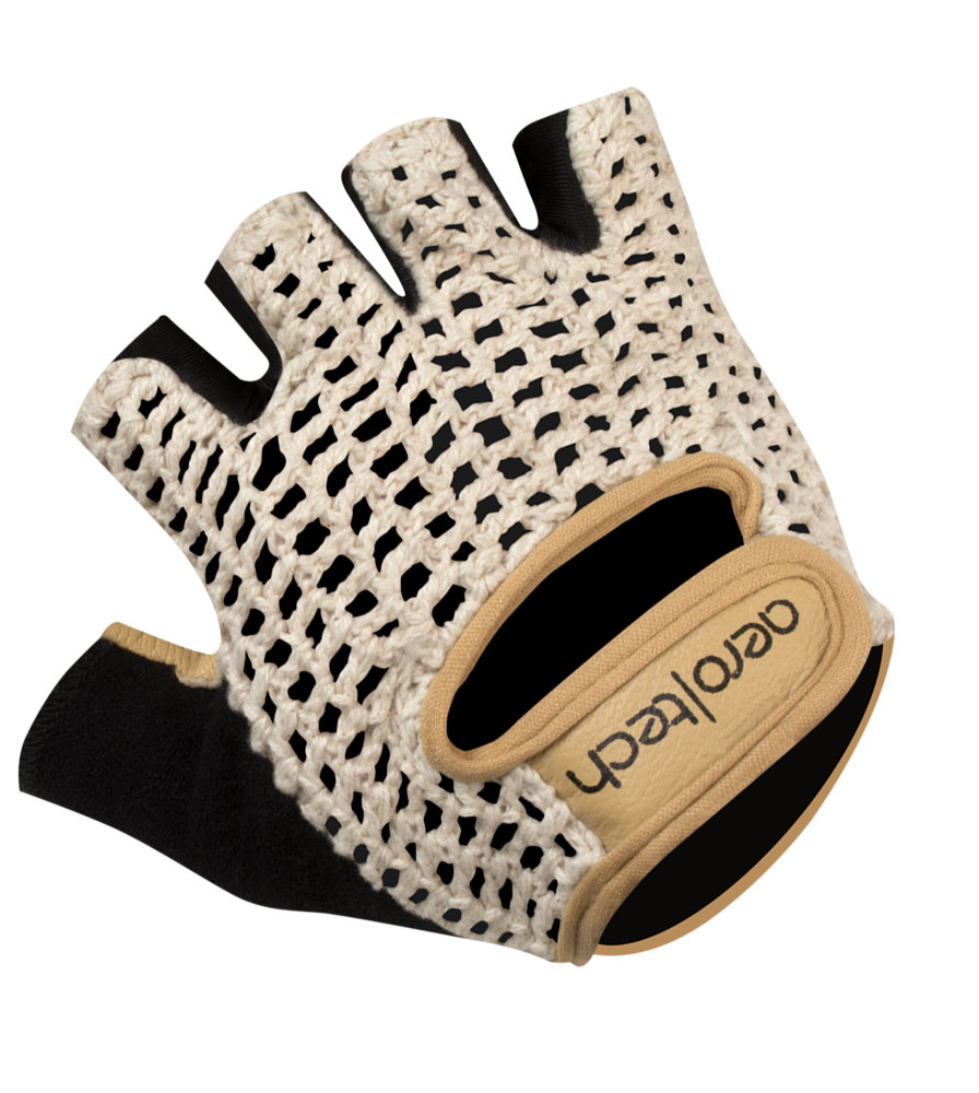 Extra Gel Padded Crotchet Cycling Gloves Full Top View