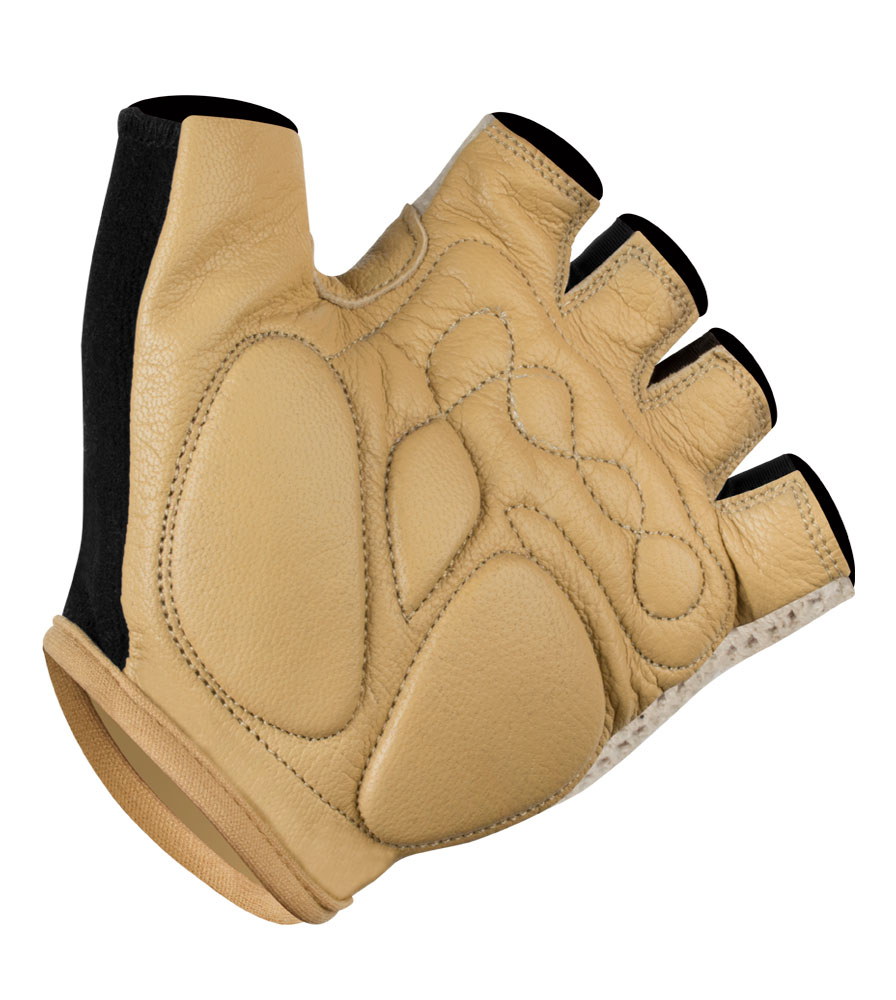 Extra Gel Padded Crotchet Cycling Gloves Full Palm View