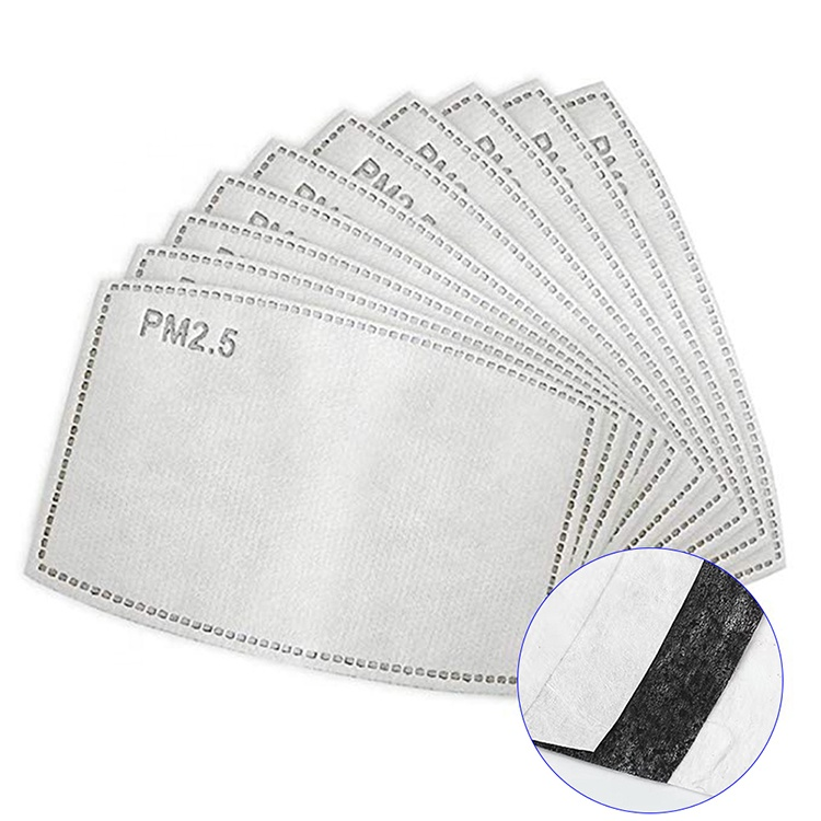 pack of 10 pm2.5 facemask filter