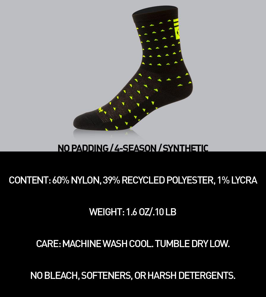 Aero Tech X DeFeet 5 Inch Vapor Cycling Sock Details