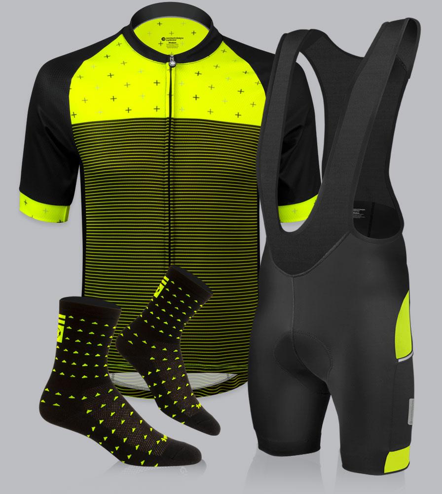Safety Yellow Vapor Cycling Kit