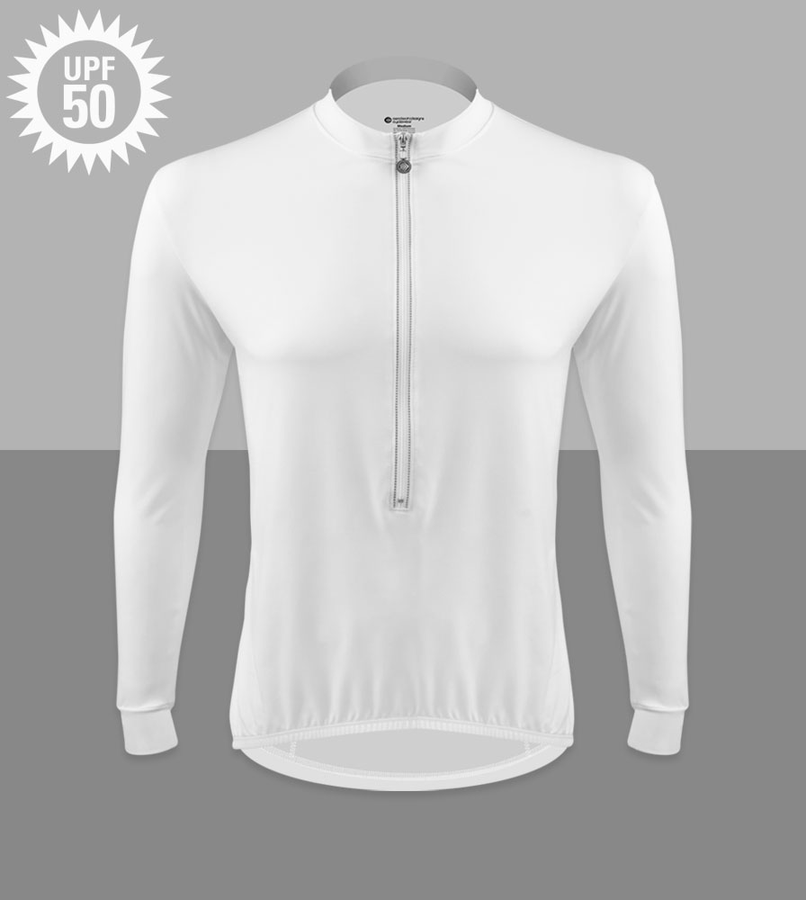 Eclipse Sun Protection Long Sleeve Cycling Jersey UPF 50 Rated